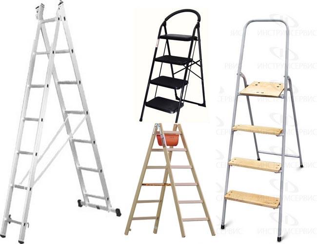 Сделать приставную лестницу своими руками видео